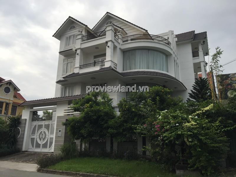 Cho thuê biệt thự Thảo Điền Quận 2 DT 342m2 6PN nhà tuyệt đẹp