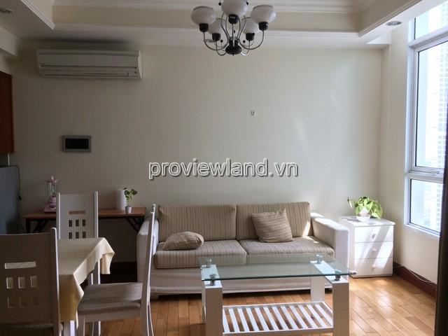 Cho thuê căn hộ The Manor Quận Bình Thạnh có diện tích 51m2 1 phòng ngủ