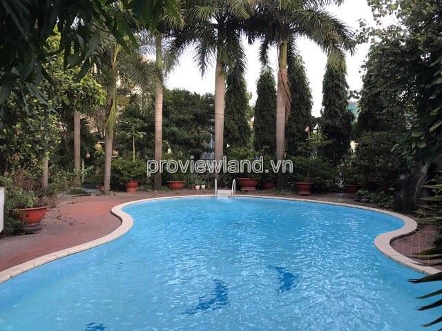 Bán biệt thự mặt tiền Xa Lộ Hà Nội DT 2000m2 có sân vườn hồ bơi rộng
