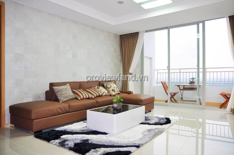 Cho thuê căn hộ cao cấp Cantavil Premier Quận 2 tầng cao 125m2 3pn