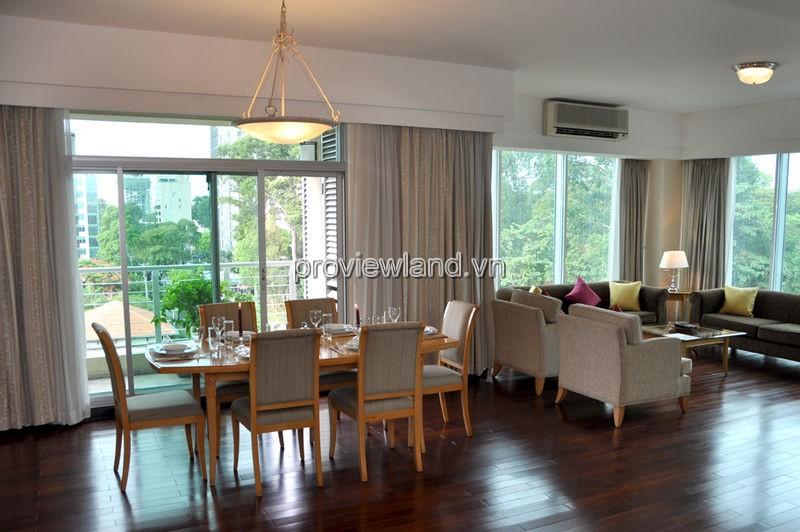Cho thuê căn hộ dịch vụ Quận 1 Nguyễn Thị Minh Khai 3 phòng ngủ