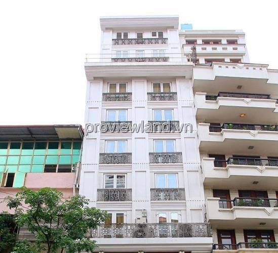 Bán khách sạn Quận 1 Lương Hữu Khánh 130m2 1 hầm 7 tầng