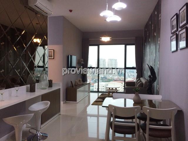 Cho thuê căn hộ tầng 19 Ascent quận 2 diện tích 70m2 2 phòng ngủ
