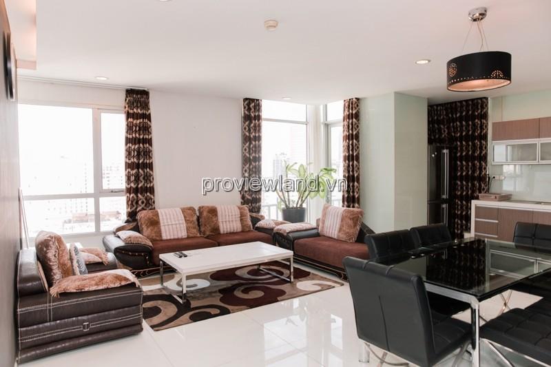 Cho thuê căn hộ cao cấp Lancaster Quận 1 tầng 15 view đẹp 3 phòng ngủ full nội thất
