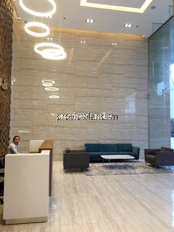 Căn hộ Pearl Plaza Quận Bình Thạnh cho thuê có diện tích 103m2 tầng cao 2 PN