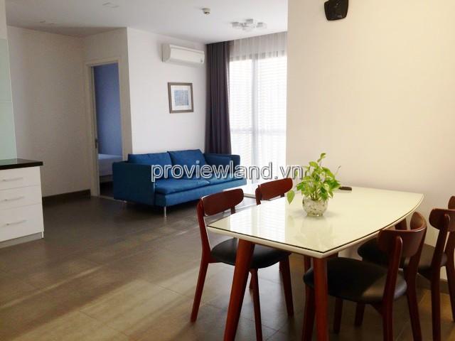 Cho thuê căn hộ dịch vụ Thảo Điền Quận 2 diện tích 90m2 3pn có bang công