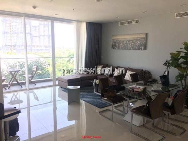 Cho thuê căn hộ Sarimi Quận 2 tầng thấp 135m2 3 phòng ngủ