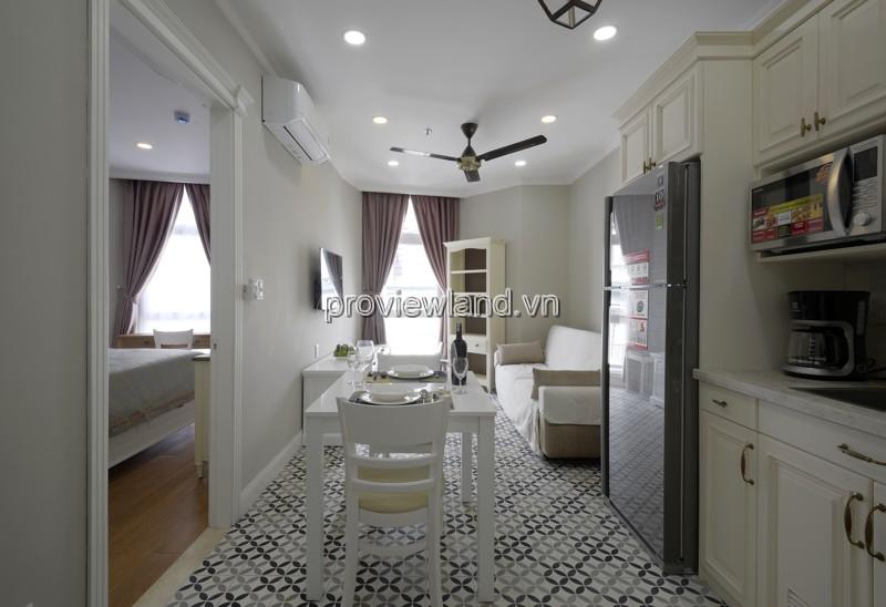 Cho thuê căn hộ dịch vụ Nguyễn Văn Hưởng Quận 2 45m2 1PN