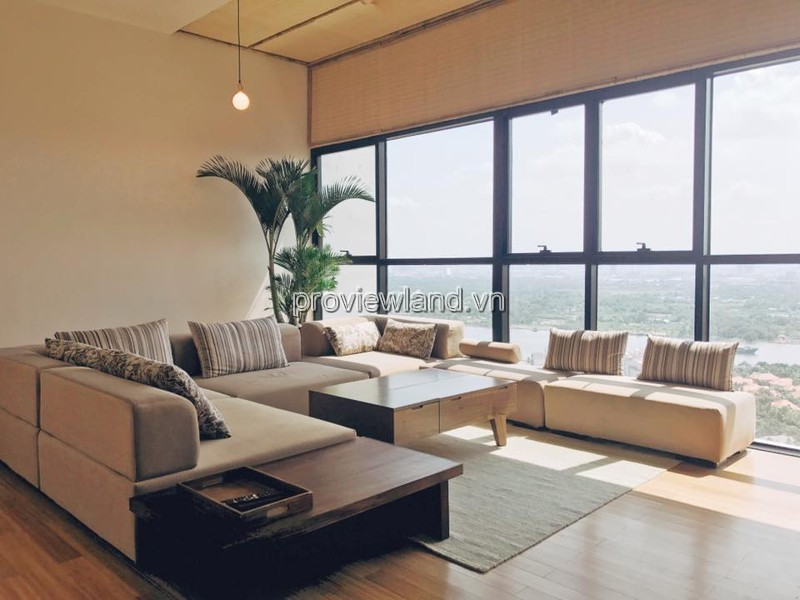 Penthouse apartment for rent in The Ascent with area 250sqm 29th floor 5 bedrooms