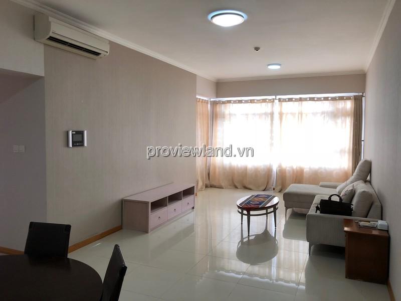 Cho thuê căn hộ Saigon Pearl tầng 19 3PN view sông