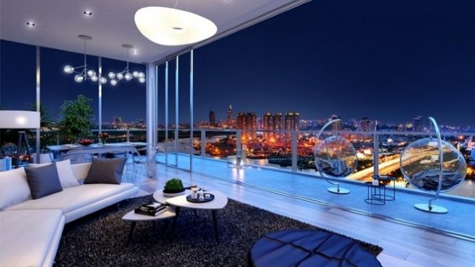 Bán một số căn hộ 1PN dự án Serenity Sky Villa Quận 3 DT 68.20m2 thang máy riêng