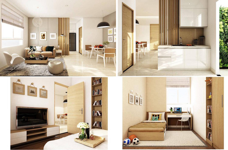 Bán căn hộ 2 phòng ngủ Q2 Thảo Điền có diện tích 71m2 view sông vĩnh viễn