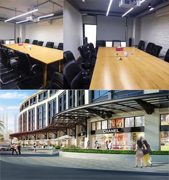 Cho thuê văn phòng tại Saigon Pearl Quận Bình Thạnh diện tích 130m2