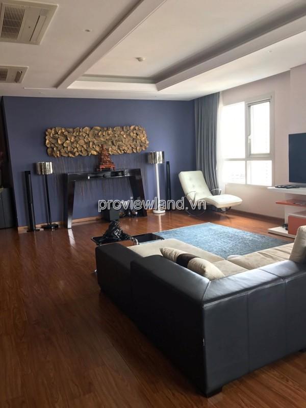 Căn hộ cao cấp Xi Riverview cho thuê có diện tích 200m2 3 phòng ngủ