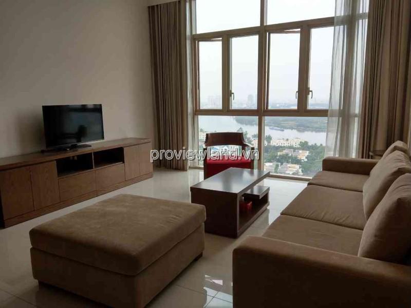 Căn hộ The Vista Quận 2 tháp T5 tầng cao view sông Sài Gòn 140m2 3PN