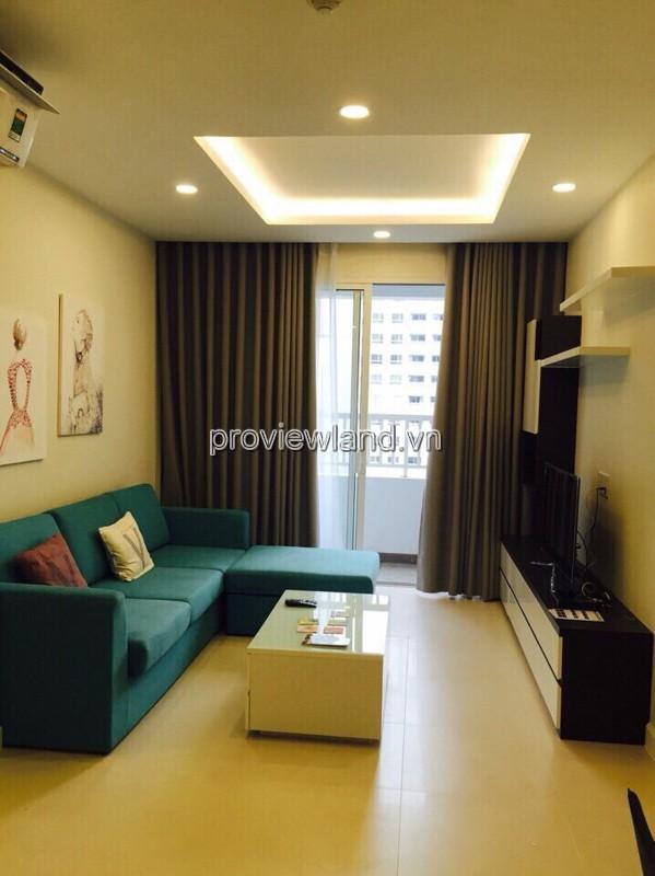 Cho thuê căn hộ Lexington Residence tầng cao với diện tích 73m2 2PN đầy đủ nội thất