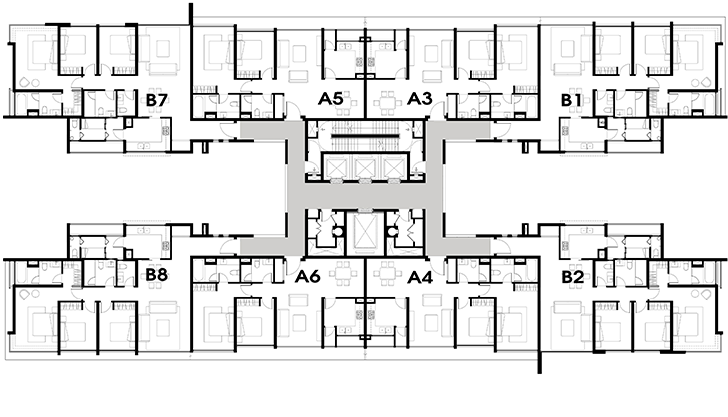 Tầng 3-15 T3-T5 Vista