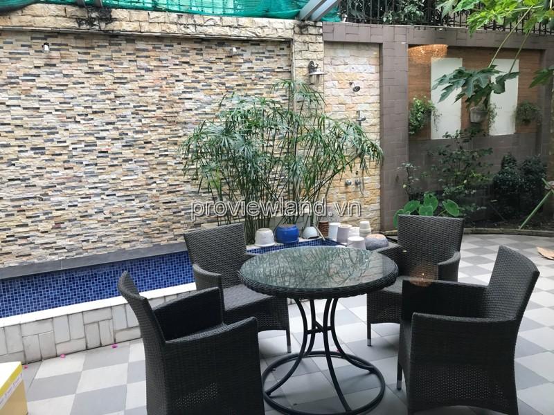 Cho thuê Villa Riviera Quận 2 2 tầng đầy đủ nội thất 4 phòng ngủ 480m2