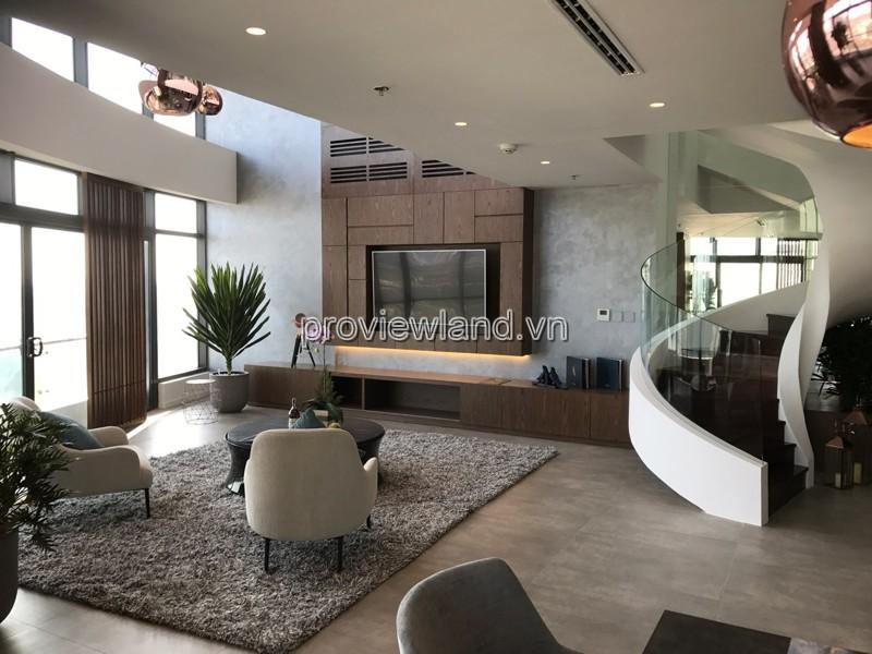 Bán can hộ Penthouse City Garden tầng 30-31 diện tích 435m2 3 phòng ngủ sân vườn 105m2