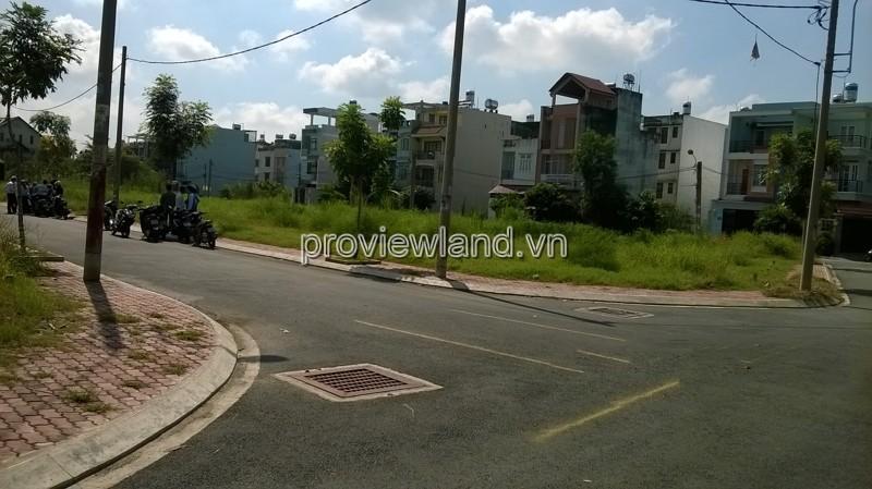 Bán lô đất góc 2 mặt tiền khu Him Lam Quận 2 diện tích 20x20m