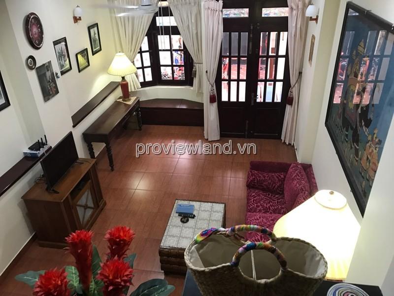 Bán nhà phố Quận 2 Nguyễn Cư diện tích 4x25m 1 trệt 3 lầu, 4 phòng ngủ