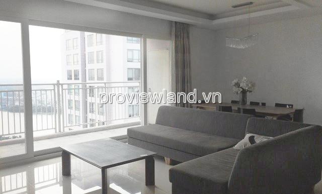 Căn hộ 3 phòng ngủ Xi Riverview đang cho thuê với diện tích 145m2