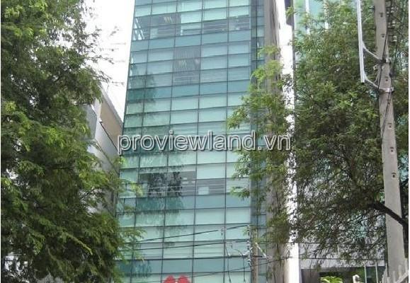Bán tòa nhà văn phòng Quận 3 tại đường Huỳnh Tịnh Của xây dựng 1 hầm 7 tầng DT 186m2