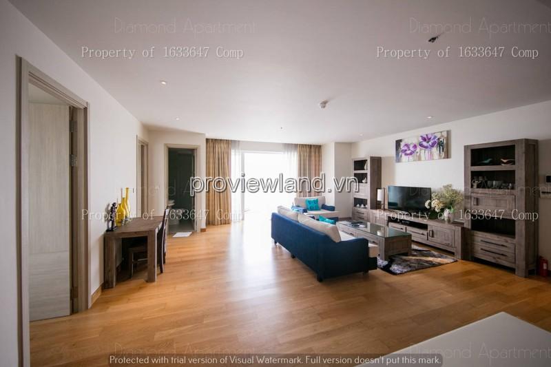 Cho thuê căn hộ 2 phòng ngủ 108m2 diện tích tại dự án Đảo Kim Cương