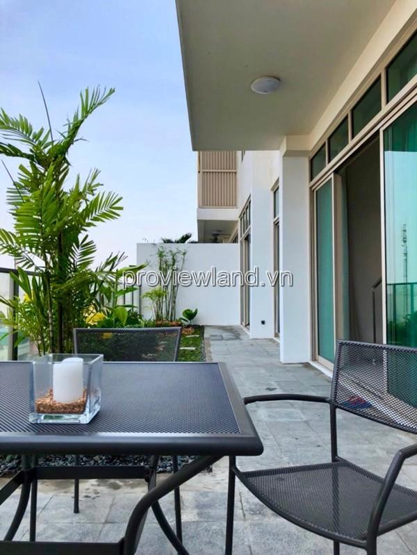 Cần cho thuê căn hộ tầng thấp The Vista 2 phòng ngủ 142m2 đầy đủ nội thất