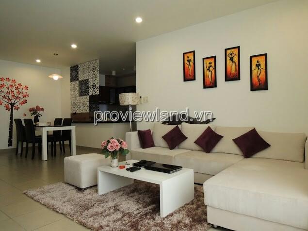 Cho thuê căn hộ 2 phòng ngủ Horizon Quận 1 tầng cao với diện tích 106m2