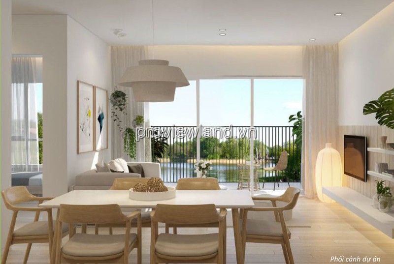 Cần cho thuê căn hộ Quận 2 Palm Heights 3 phòng ngủ 105m2