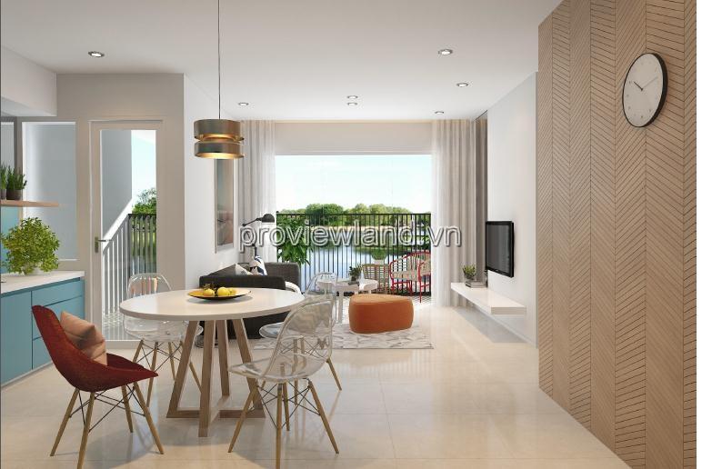 Căn hộ 76m2 2 phòng ngủ cho thuê tại Palm height dự án Palm City