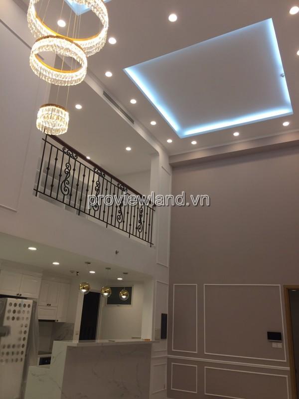 Căn Duplex Vista Verde cho thuê với 4 phòng ngủ 197m2
