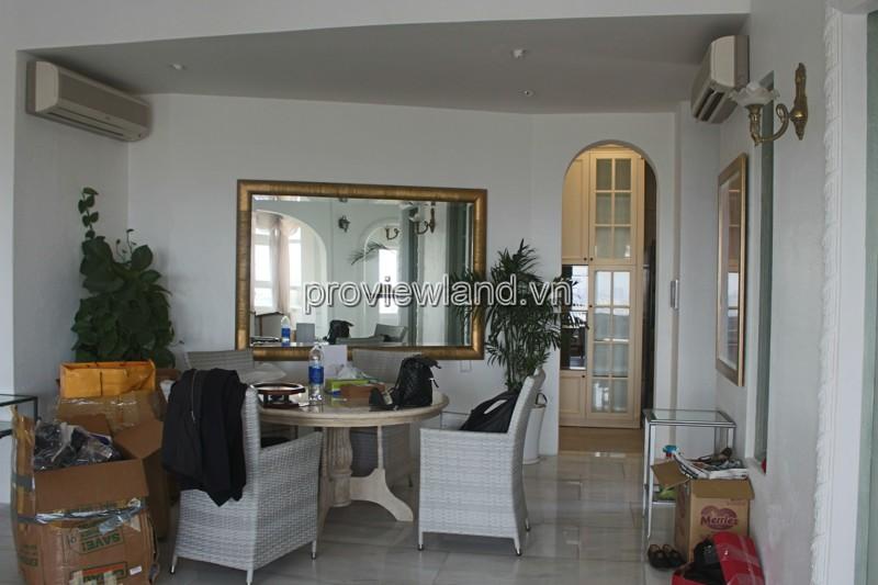 Cho thuê căn penthouse tại chung cư Saigon Pearl với diện tích 240m2
