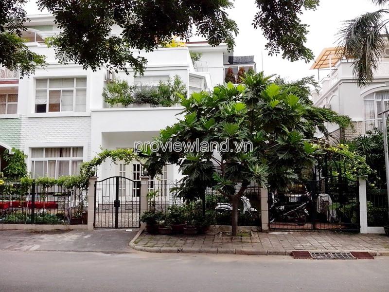 Bán biệt thự Mỹ Thái 1 khu Phú Mỹ Hưng Quận 7 DT 240m2 5 phòng ngủ
