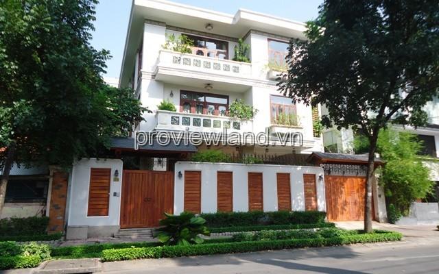 Bán biệt thự Quận 3 tại mặt tiền đường Nguyễn Đình Chiểu có diện tích 580m2