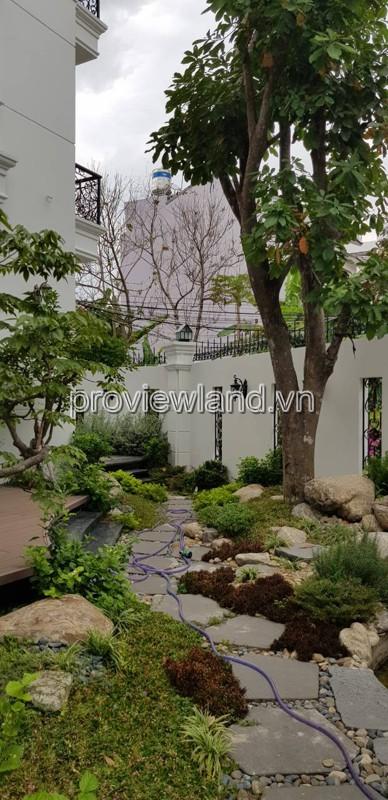 Bán biệt thự khu Compound Thảo Điền Quận 2 diện tích 300m2 có sân vườn