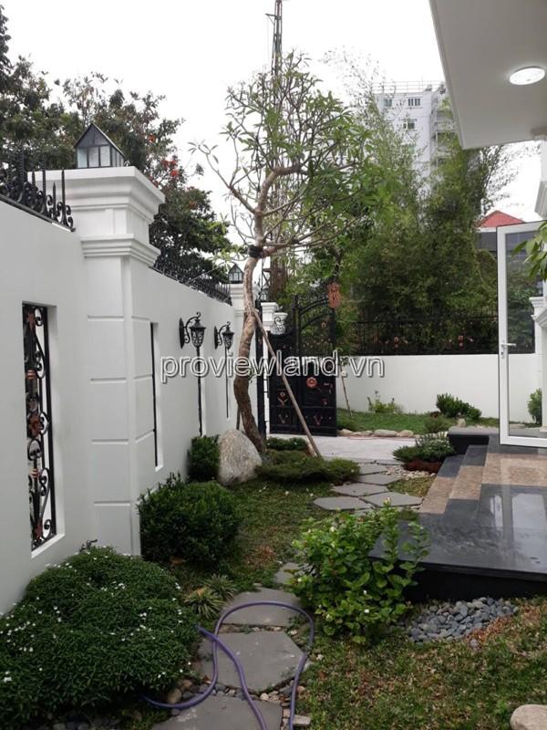 Biệt thự Thiên Tuế khu Compound Thảo Điền Quận 2 cần bán 3 tầng diện tích 300m2
