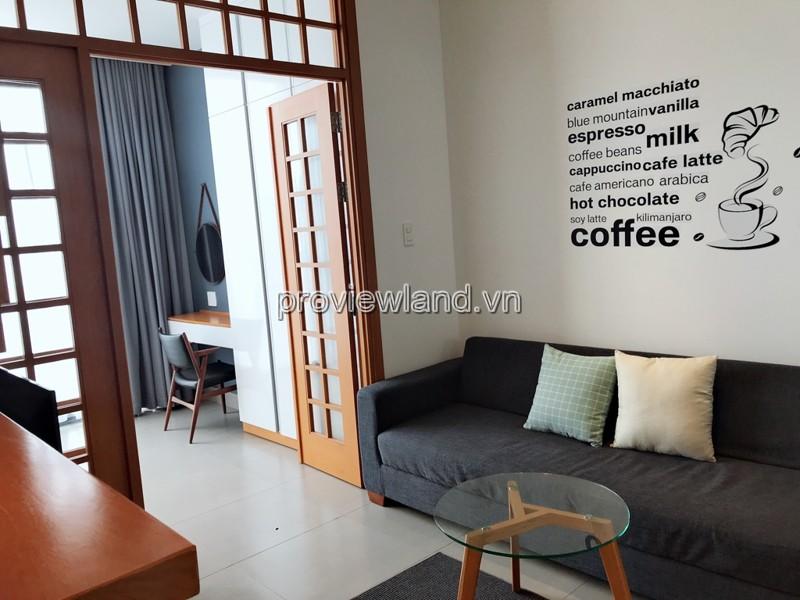 Cho thuê căn hộ dịch vụ tại Thảo Điền Quận 2 DT 40m2 tầng 4 căn số 02