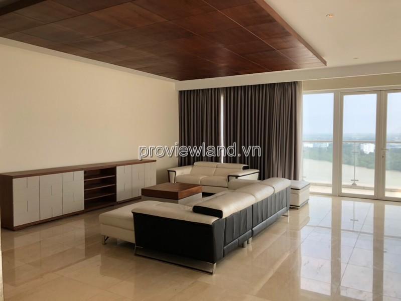 Cho thuê căn hộ Duplex Đảo Kim Cương view sông cực đẹp 2 tầng 230m2 3 phòng ngủ