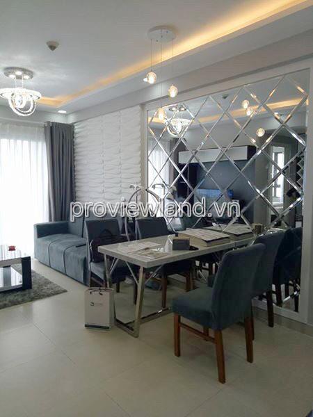 Masteri Thảo Điền cho thuê căn hộ 2PN tầng cao Tháp T1 đầy đủ nội thất