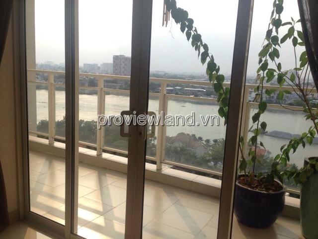 Căn hộ cho thuê tại River Garden Block A tầng cao 156m2 4 phòng ngủ