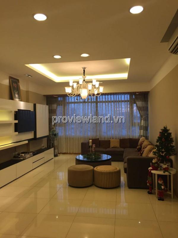 Cho thuê căn hộ cao cấp Saigon Pearl 3 phòng ngủ 141m2 đầy đủ nội thất