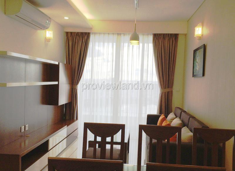 Căn hộ nội thất đẹp tại Thảo Điền Pearl với 2 phòng ngủ 96m2 đang cho thuê