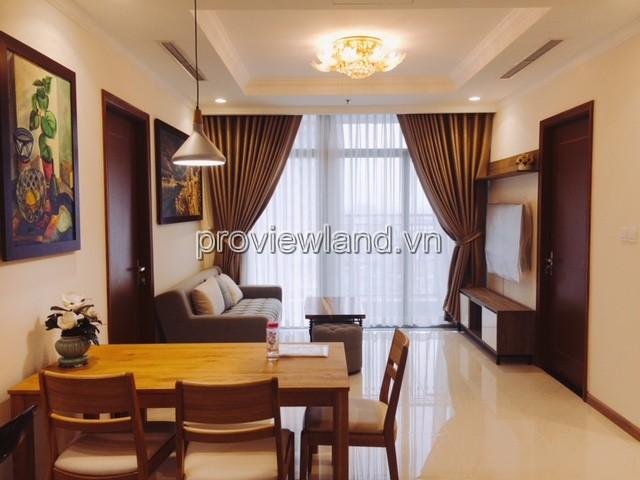 Căn hộ Vinhomes Tân Cảng cho thuê có diện tích 104m2 tầng trung 3 phòng ngủ