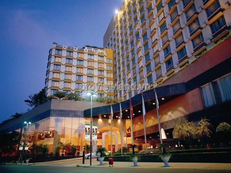 Bán khách sạn 4 sao ngay tại trung tâm Quận 1 490m2 1 hầm 1 lững 17 tầng 120 phòng