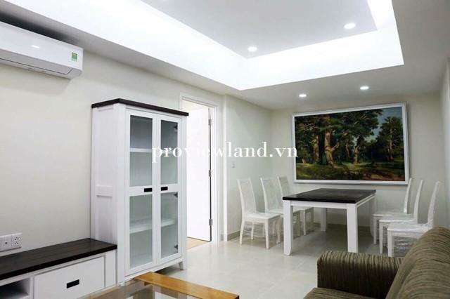 Căn hộ 3 phòng ngủ đầy đủ nội thất cho thuê tại Masteri Thảo Điền