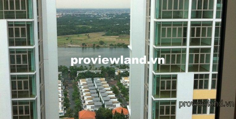 The Vista Penthouse cần bán căn hộ thông 3 tầng 472m2 view hồ bơi 4 phòng ngủ