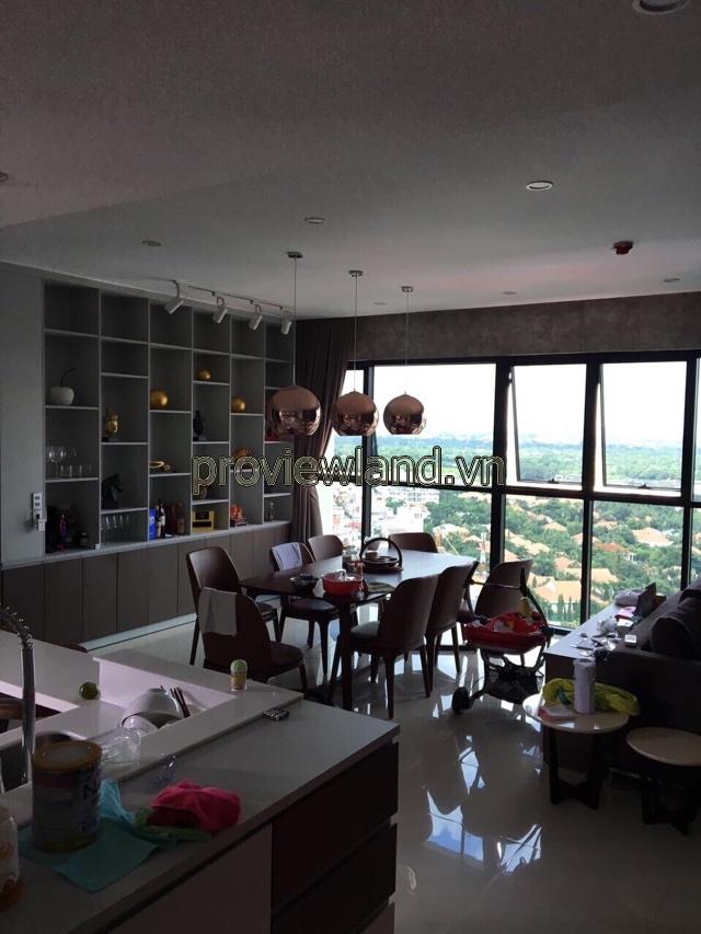 Bán căn hộ Ascent Thảo Điền phong cách Singapore 2 phòng ngủ DT 99m2 View sông