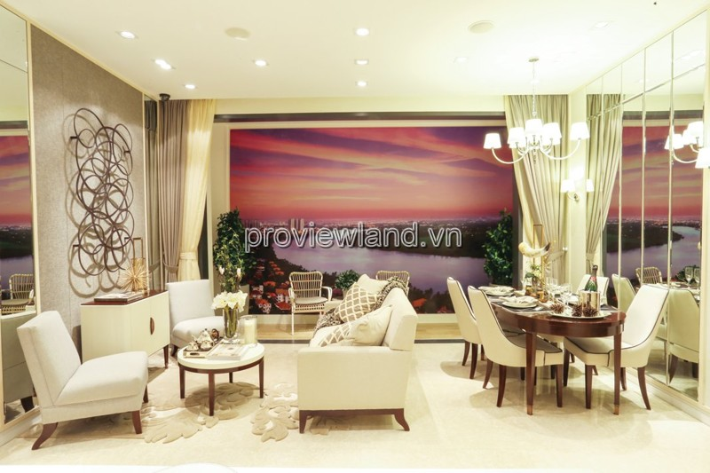 Bán căn hộ cao cấp tại Quận 2 The Nassim Thảo Điền diện tích 84.6m2 2 phòng ngủ